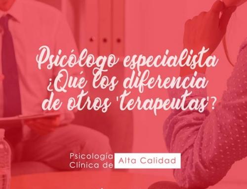 Psicólogo especialista ¿Qué los diferencia de otros 'terapeutas'?